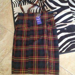 Collectif suspender skirt 22 UK 18 US New